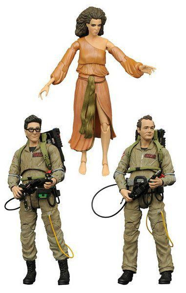 Pack Ghostbusters Serie 2: Peter, Egon e Dana - Diamond Select