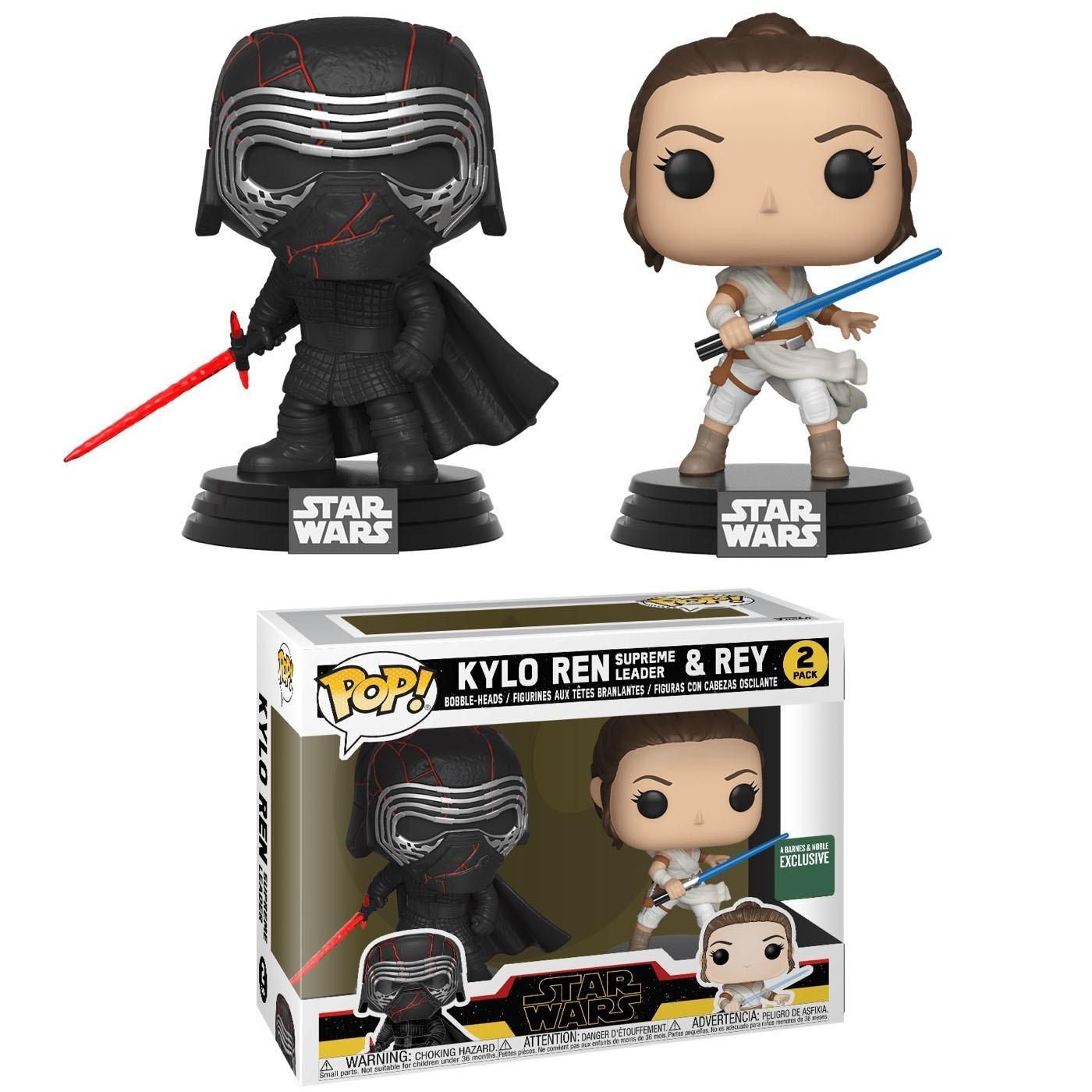 Funko Pack Pop Kylo Ren Supreme Leader & Rey: Star Wars  #2  - Funko (Exclusivo)