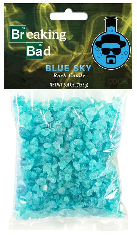 Pacote de Bala Blue Sky (Rock Candy): Breaking Bad (Blueberry) - FYE