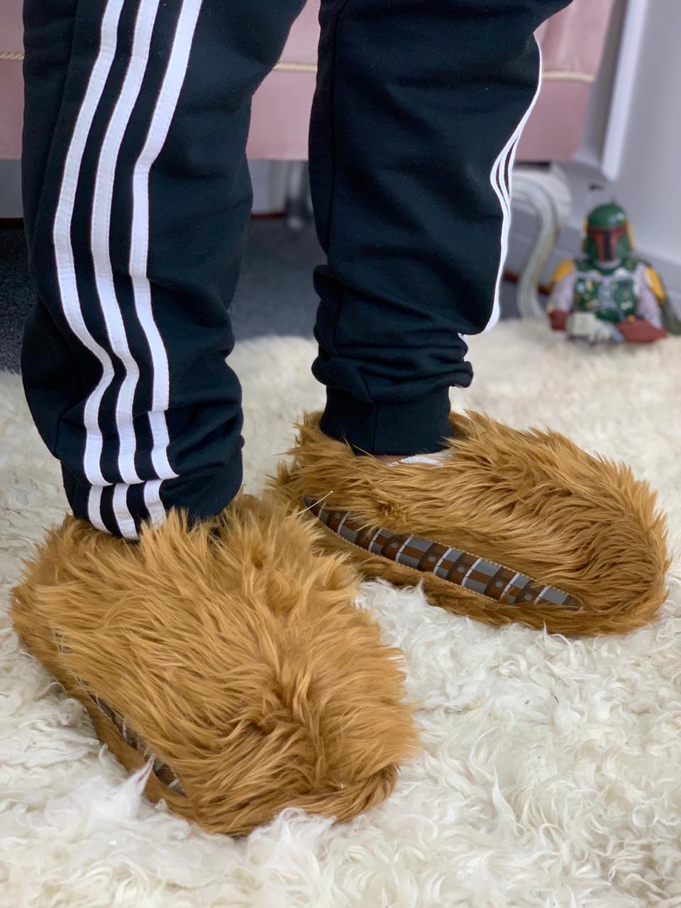 Pantufa 3D Chewbacca: Star Wars - Zona Criativa