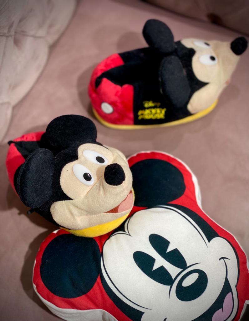 Pantufa 3D Mickey Mouse: Disney - Ricsen