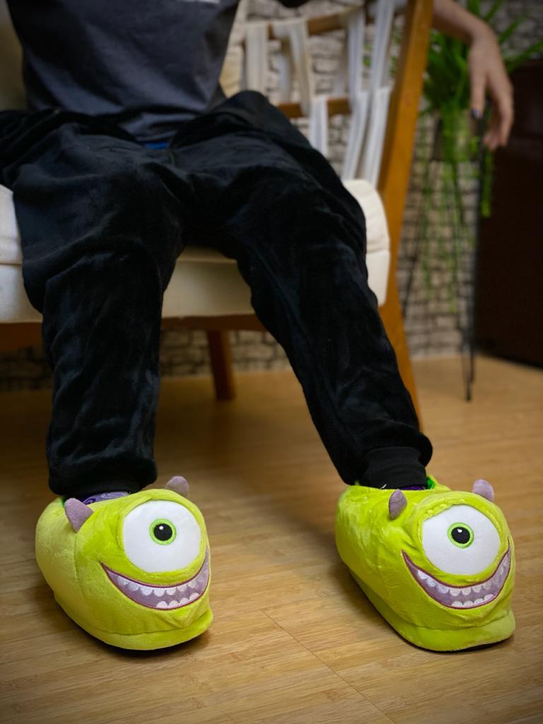 Pantufa 3D Mike Wazowski - Monstros S.A