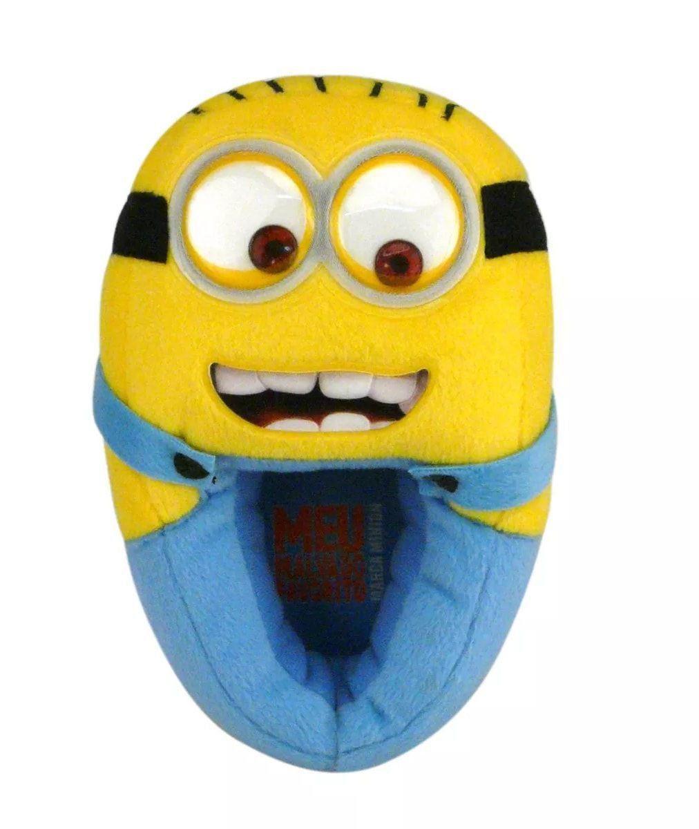 93a26deb356efa Pantufa 3D Minions: Meu Malvado Favorito - Ricsen - Toyshow