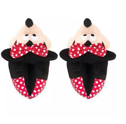 Pantufa 3D Minnie Mouse: Disney - Ricsen