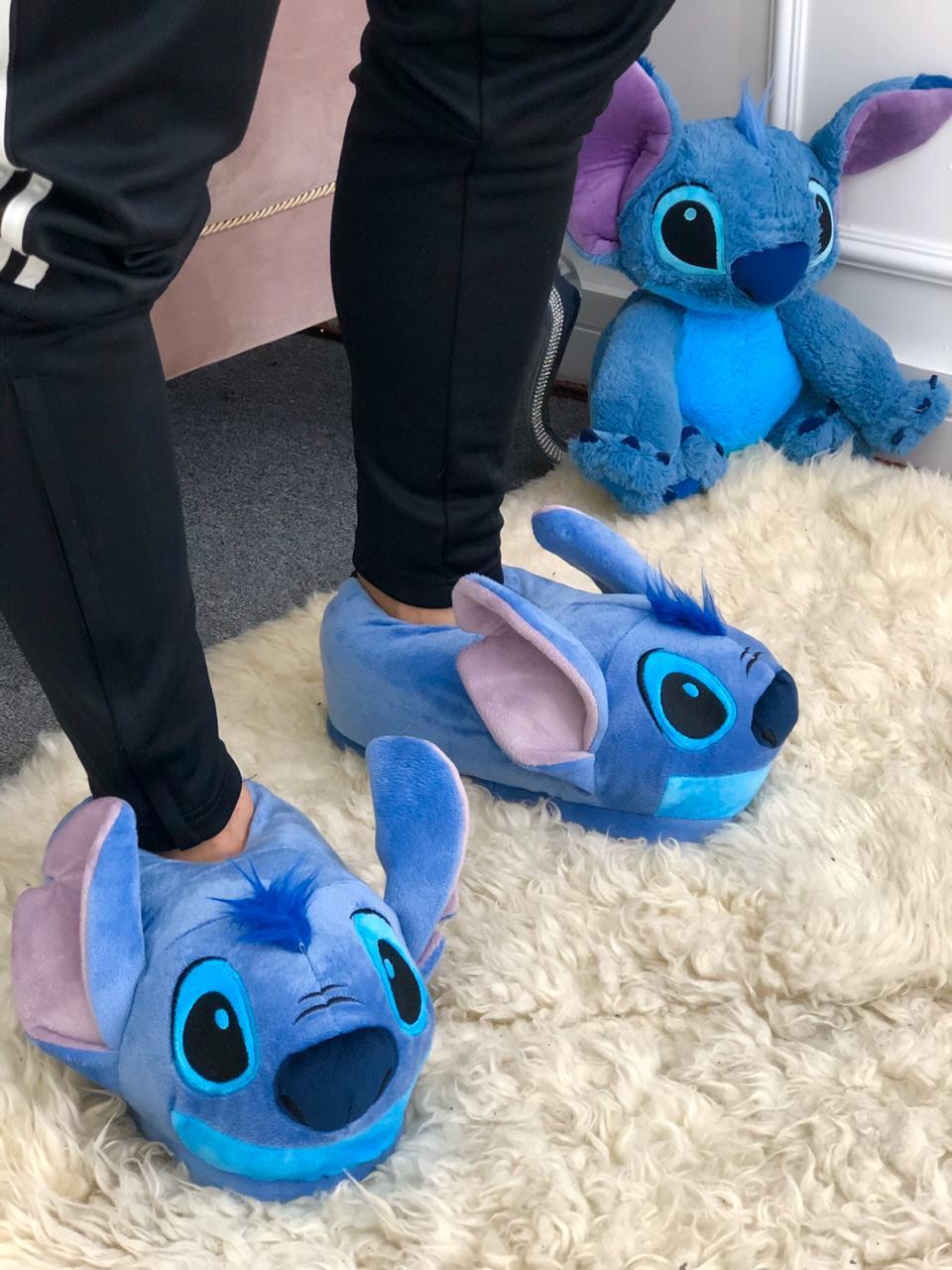 Pantufa 3D Stitch: Lilo & Stitch (Disney) - Zona Criativa