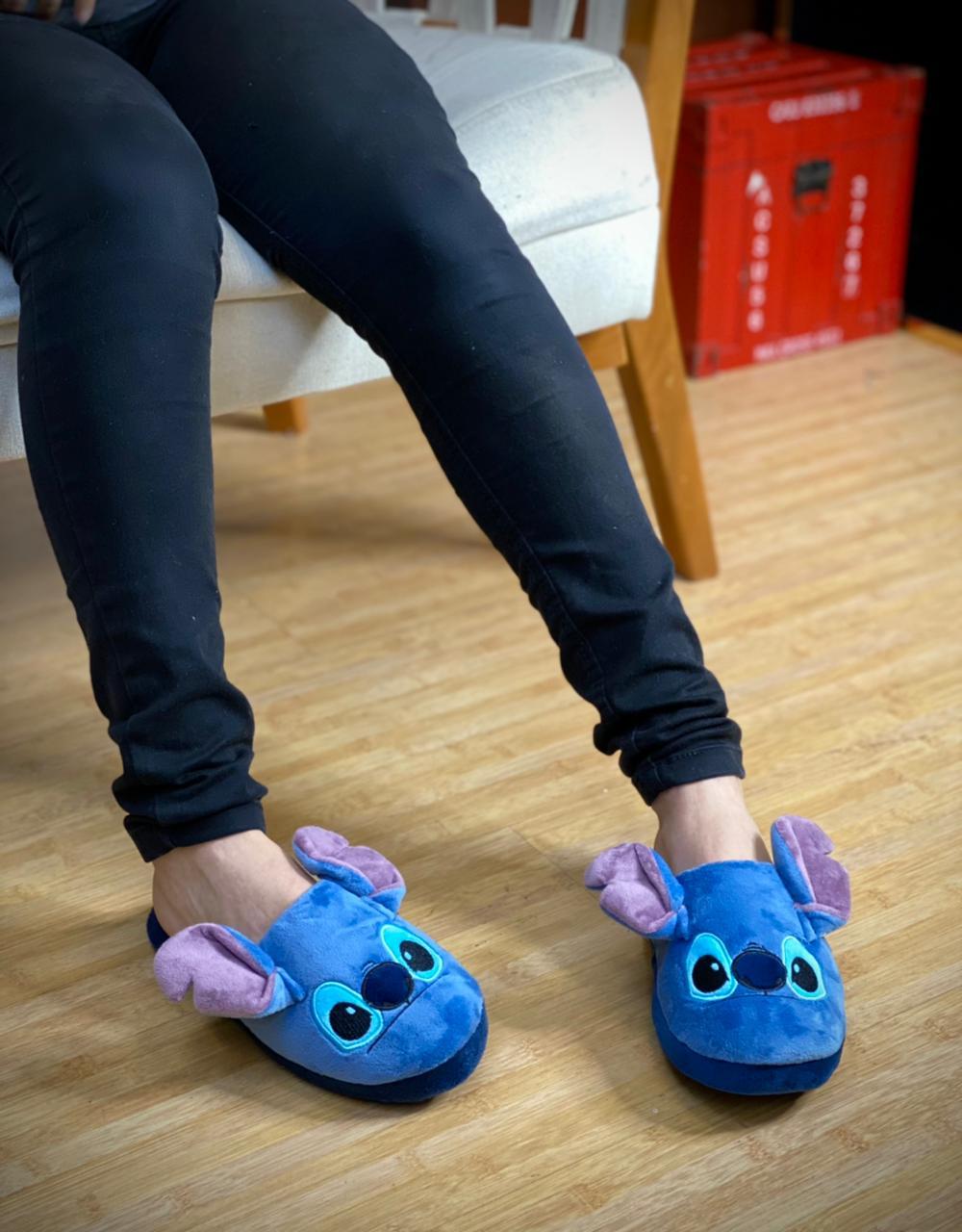 Pantufa/Chinelo De Casa Unissex Stitch: Lilo & Stitch - Disney