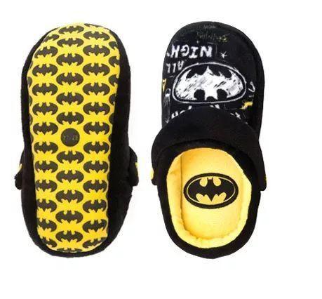 Pantufa Kick Infantil: Batman (2018) (Preto) - Ricsen