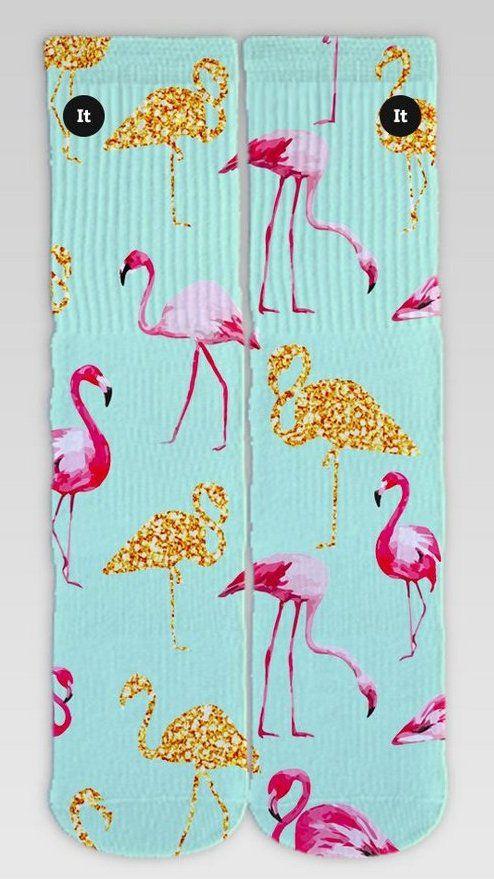 Par de Meia: Flamingo de Ouro - It Sox