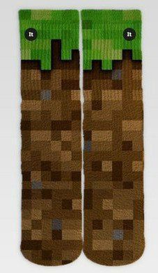 Par de Meia Geek: Minecraft - It Sox
