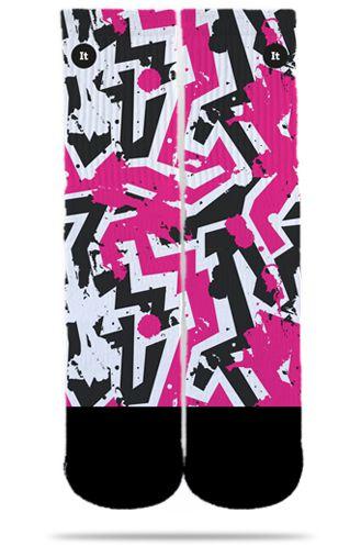 Par de Meias Geek: Shock Pink - It Sox
