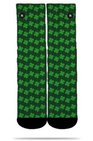 Par de Meias Geek: Trevo de Quatro Folhas - It Sox