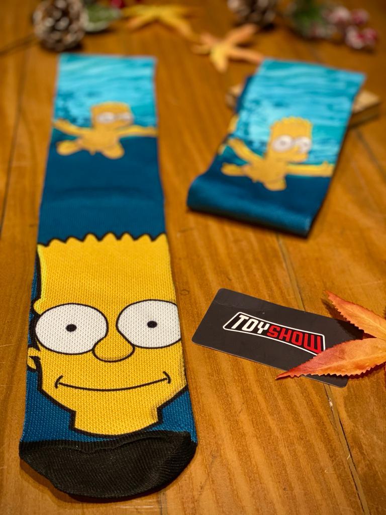Par de Meias Geek Bart Simpson (Nirvana): Os Simpsons