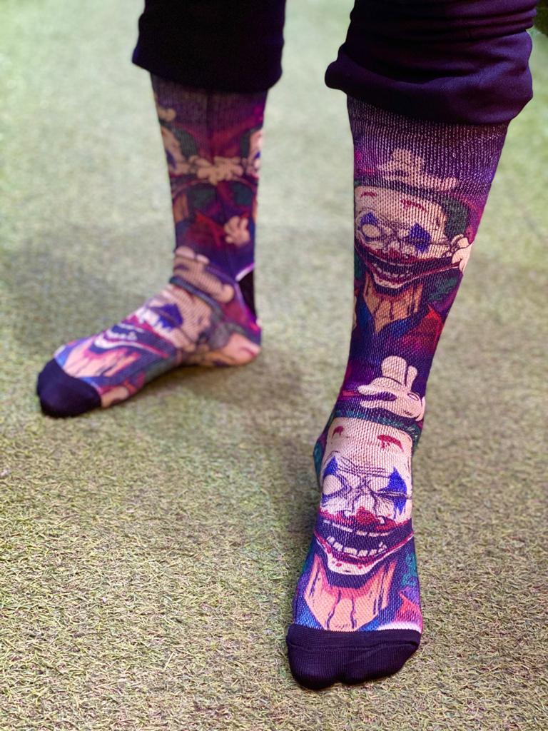 Par de Meias Geek Coringa (Joker) - FSB