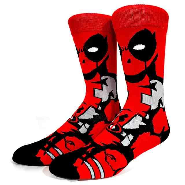 Par de Meias Geek Deadpool : Marvel - MKP