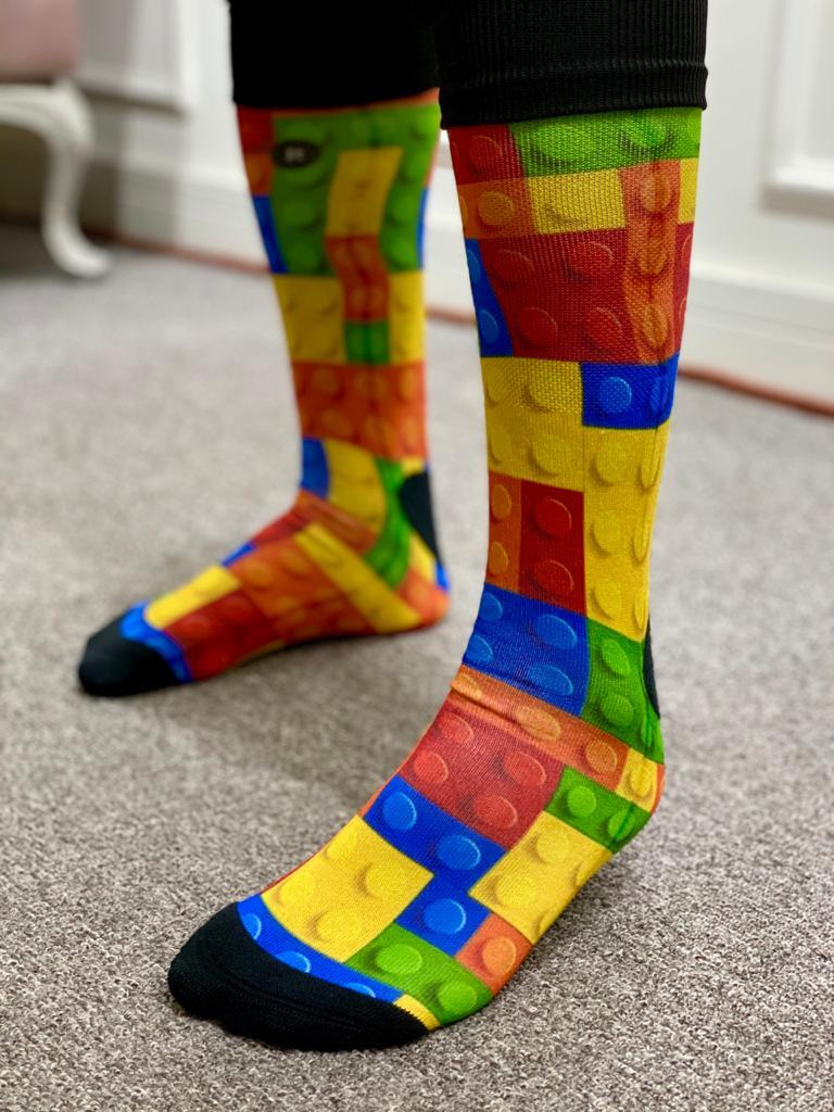 Par de Meias Geek: Lego - It Sox