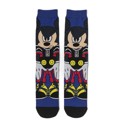 Par de Meias Geek Mickey Mouse Disney - EVALI