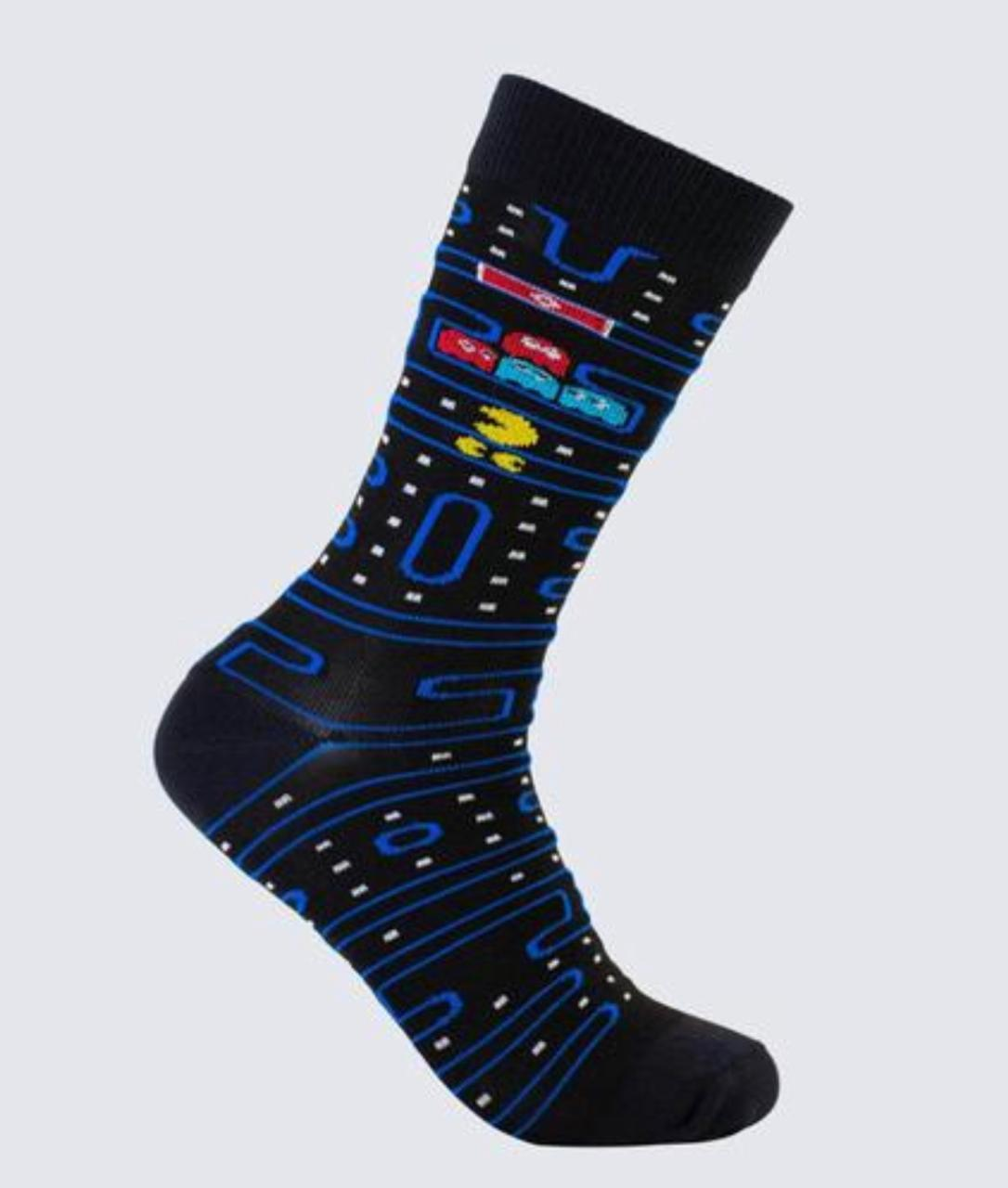 Par de Meias Geek: Pac Man 2 - It Sox