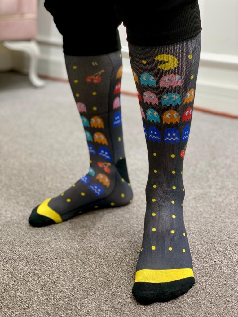 Par de Meias Geek: Pac-Man - It Sox