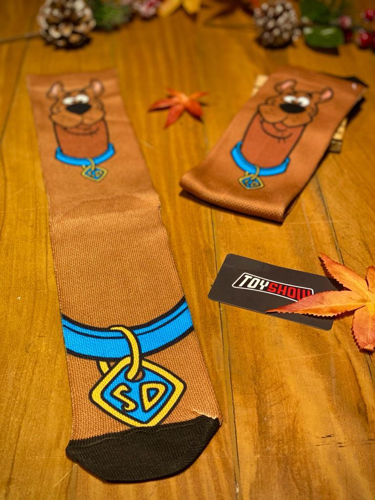 Par de Meias Geek Scooby Doo: Scooby Doo