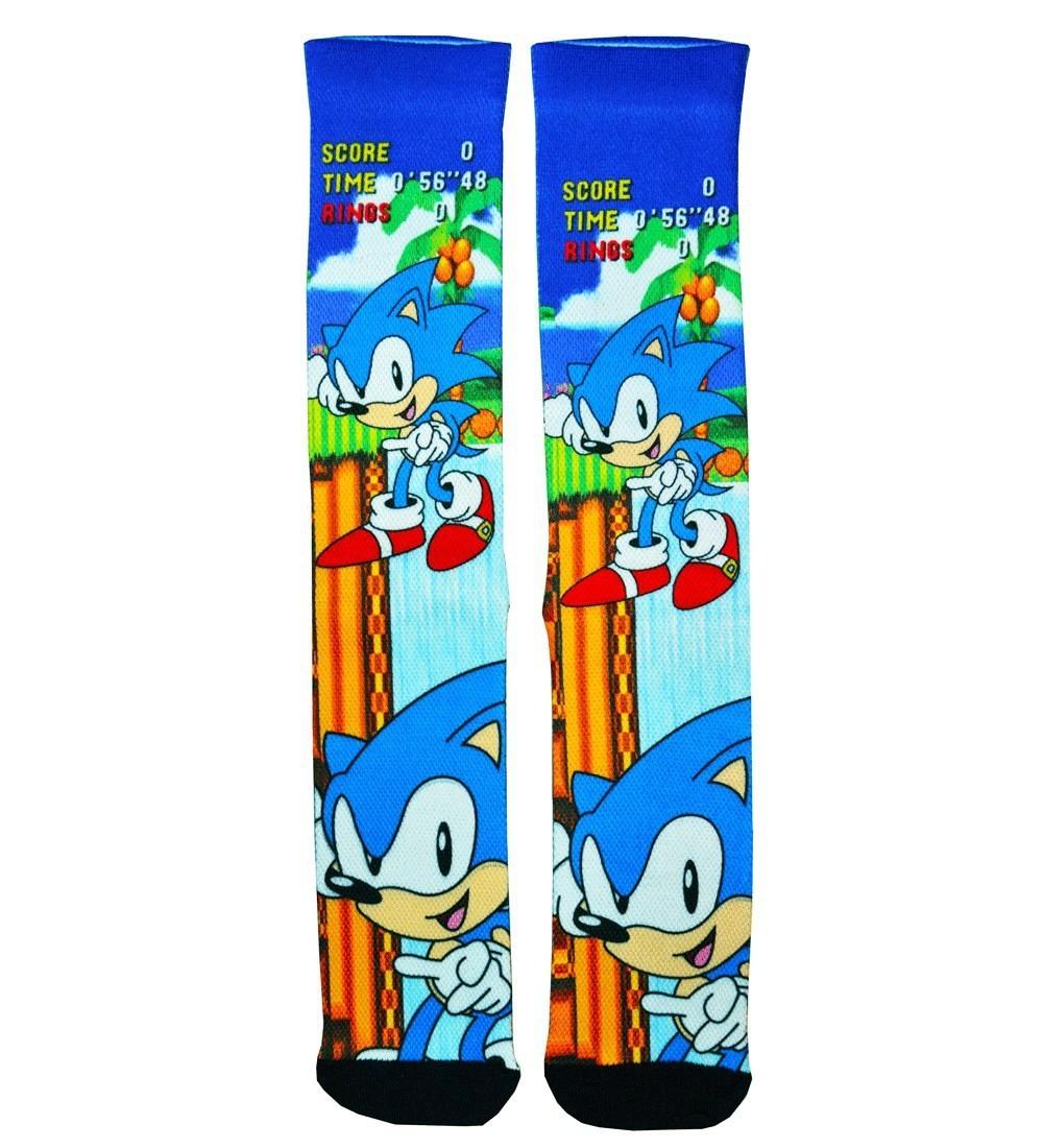 Par de Meias Geek Sonic: Sonic the Hedgehog (Cenário) - FSB