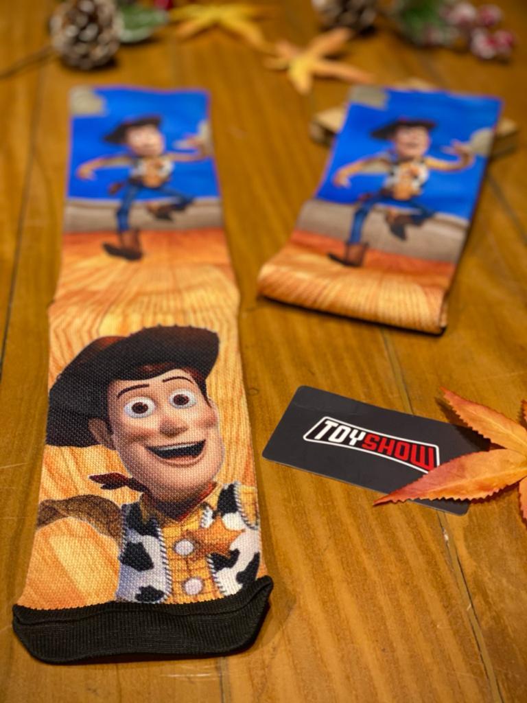 Par de Meias Geek Woody: Toy Story