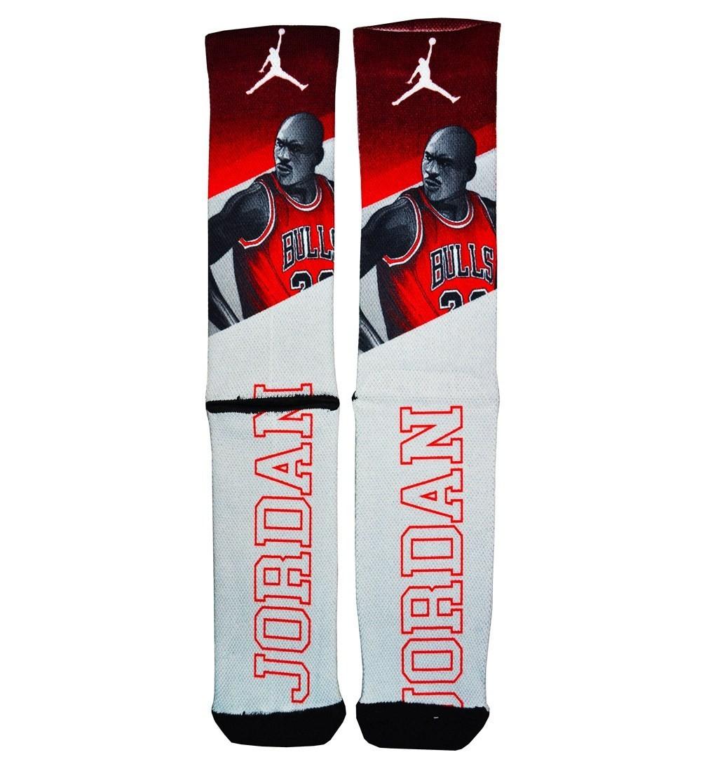 Par de Meias NBA: Michael Jordan
