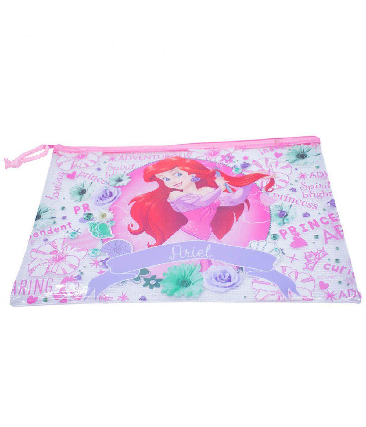 Pasta Necessaire Ariel: Pequena Sereia (Disney)