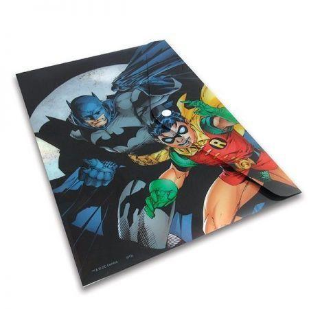 Pasta Plástica Batman e Robin - Dc Comics