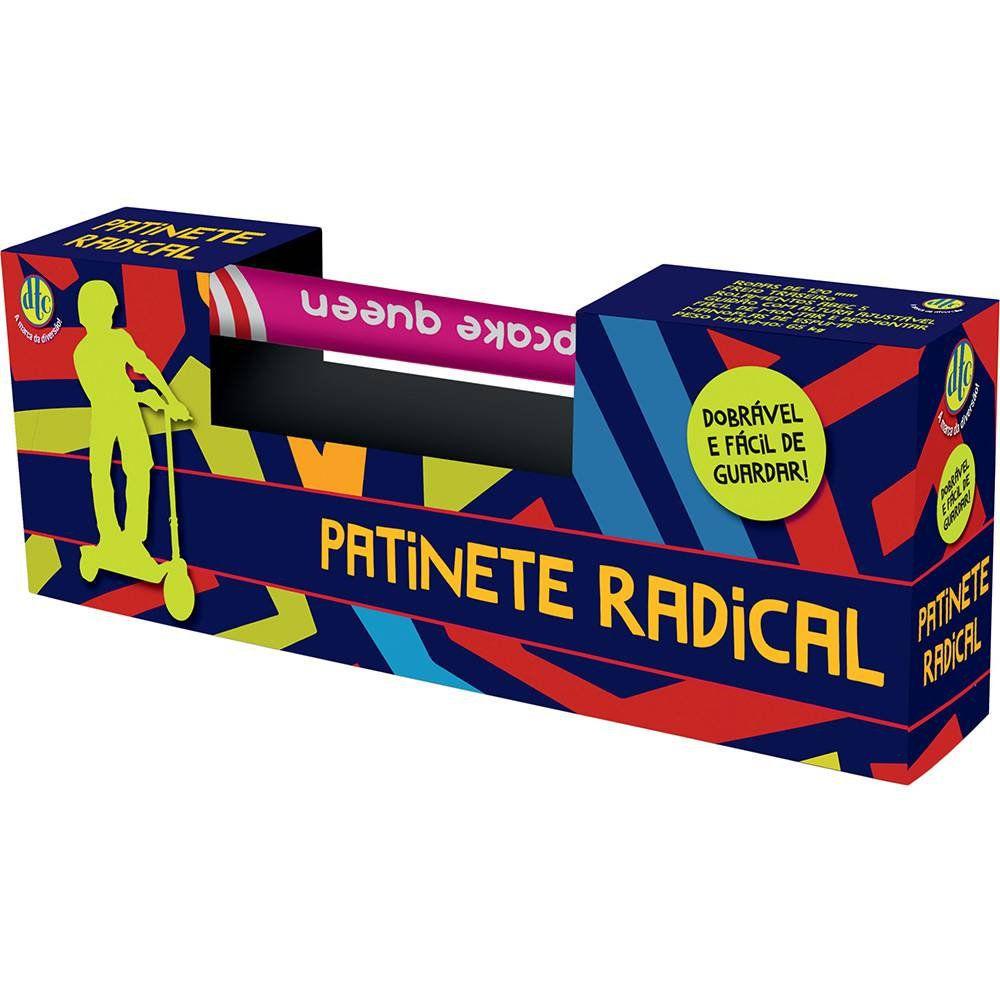 Patinete Radical Cupcake Queen (Dobravel) - DTC