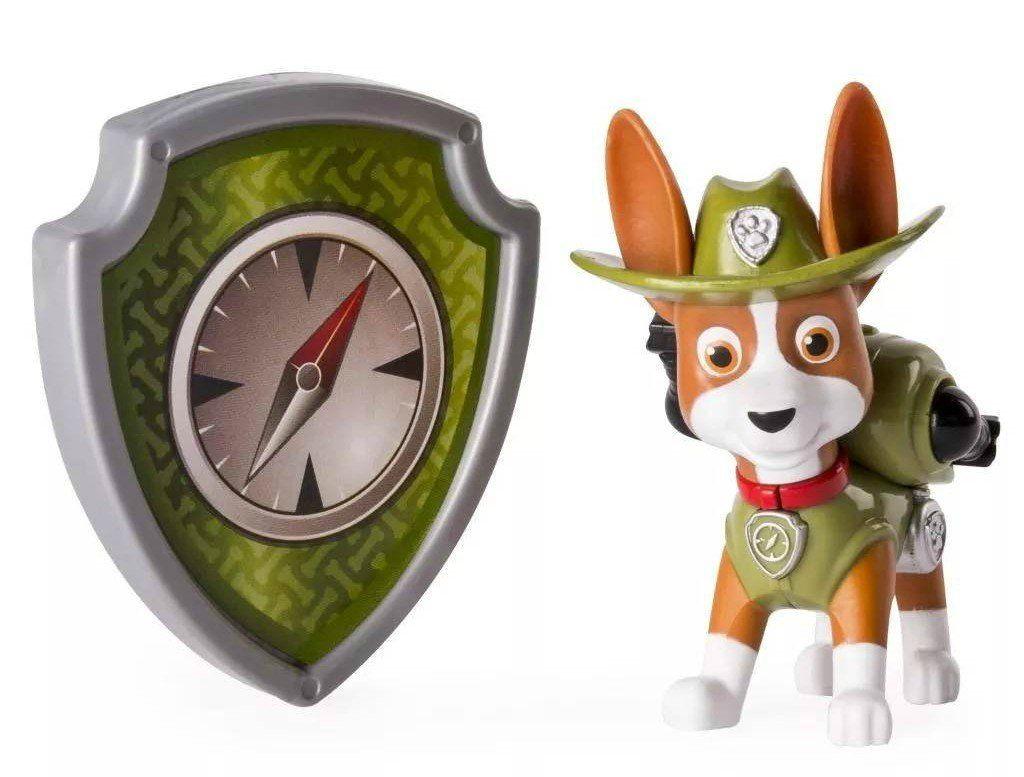 Patrulha Canina: Tracker com Distintivo - Sunny