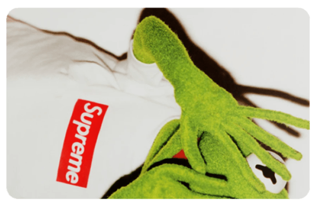 Película Adesiva Geek Cartão de Crédito e Débito Kermit Caco Supreme