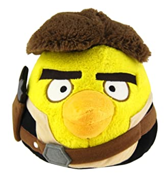 Pelúcia Angry Birds Han Solo: Star Wars (11cm) - DTC