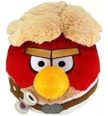Pelúcia Angry Birds Luke: Star Wars (11cm) - DTC