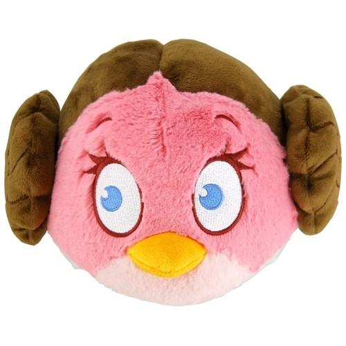 Pelúcia Angry Birds Princesa Leia: Star Wars (11cm) - DTC