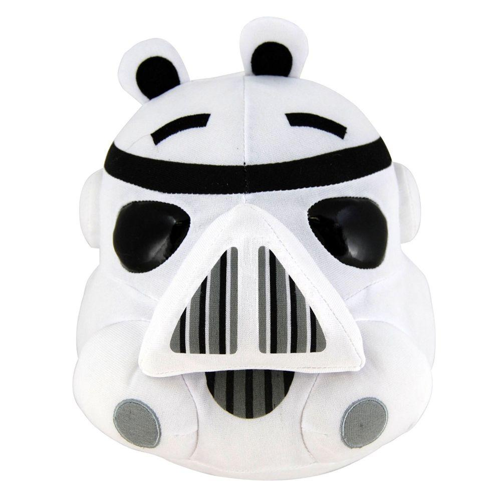Pelúcia Angry Birds Stormtrooper: Star Wars (11cm) - DTC