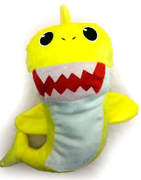 Pelúcia Baby Shark (Baby Amarelo)  - Toyshow Geek e Colecionáveis Tudo em Marvel DC Netflix Vídeo Games