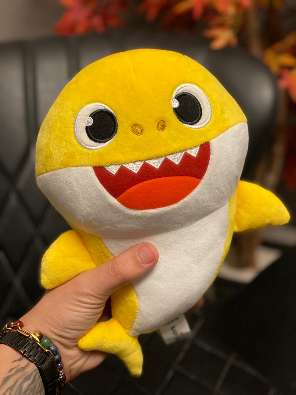 Pelúcia Baby Shark (Baby Amarelo) - Toyng