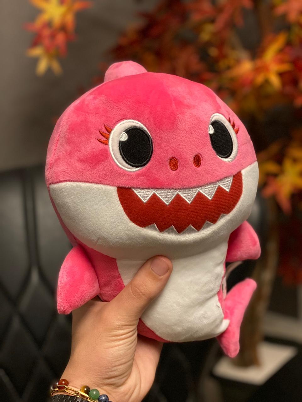 Pelúcia Baby Shark (Baby Rosa) - Toyng