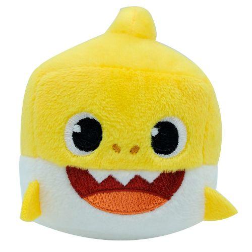 Pelúcia Baby Shark Cubo Musical (Baby Amarelo) - Pinkfong - Toyng