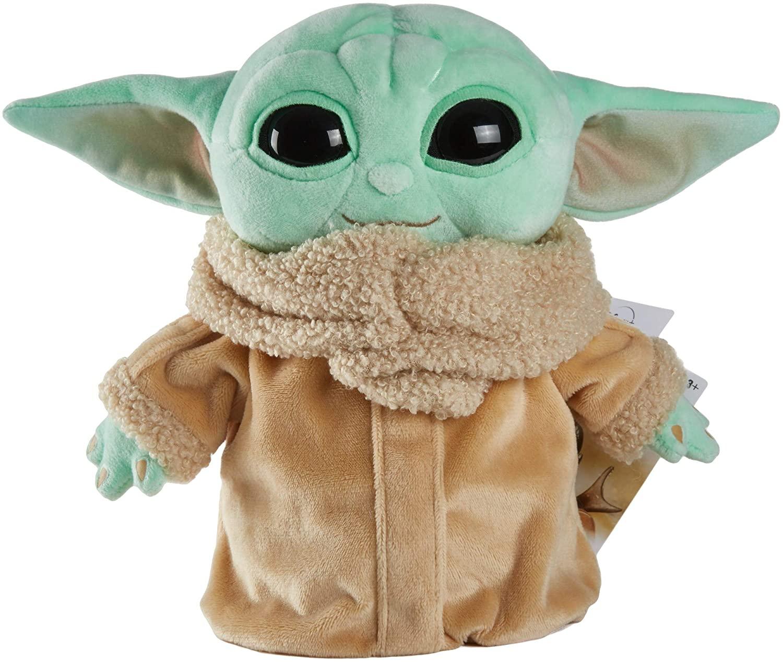 Pelúcia Grogu ''Baby Yoda'' (The Child): The Mandalorian - Star Wars (22 cm)