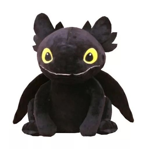 Pelúcia Banguela (Toothless): Como Treinar o seu Dragão 3 - Pequeno