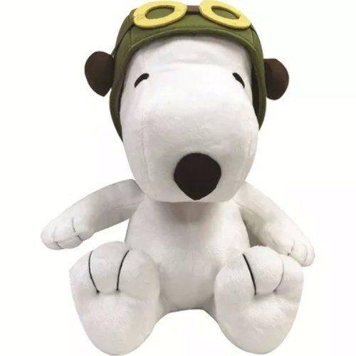 Pelúcia Barão Vermelho Snoopy (Médio): Peanuts - DTC