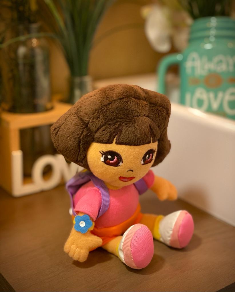 Pelúcia Beanie Boos  Dora A Aventureira Pequeno (20cm) - DTC