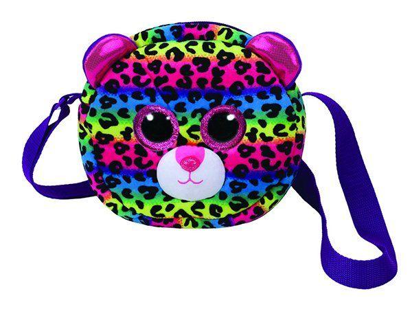 Pelúcia Bolsa Dotty (Leopardo Multicolorido): Bean