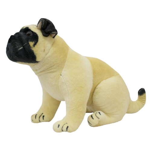Pelúcia Cachorro Bull Dog 68cm