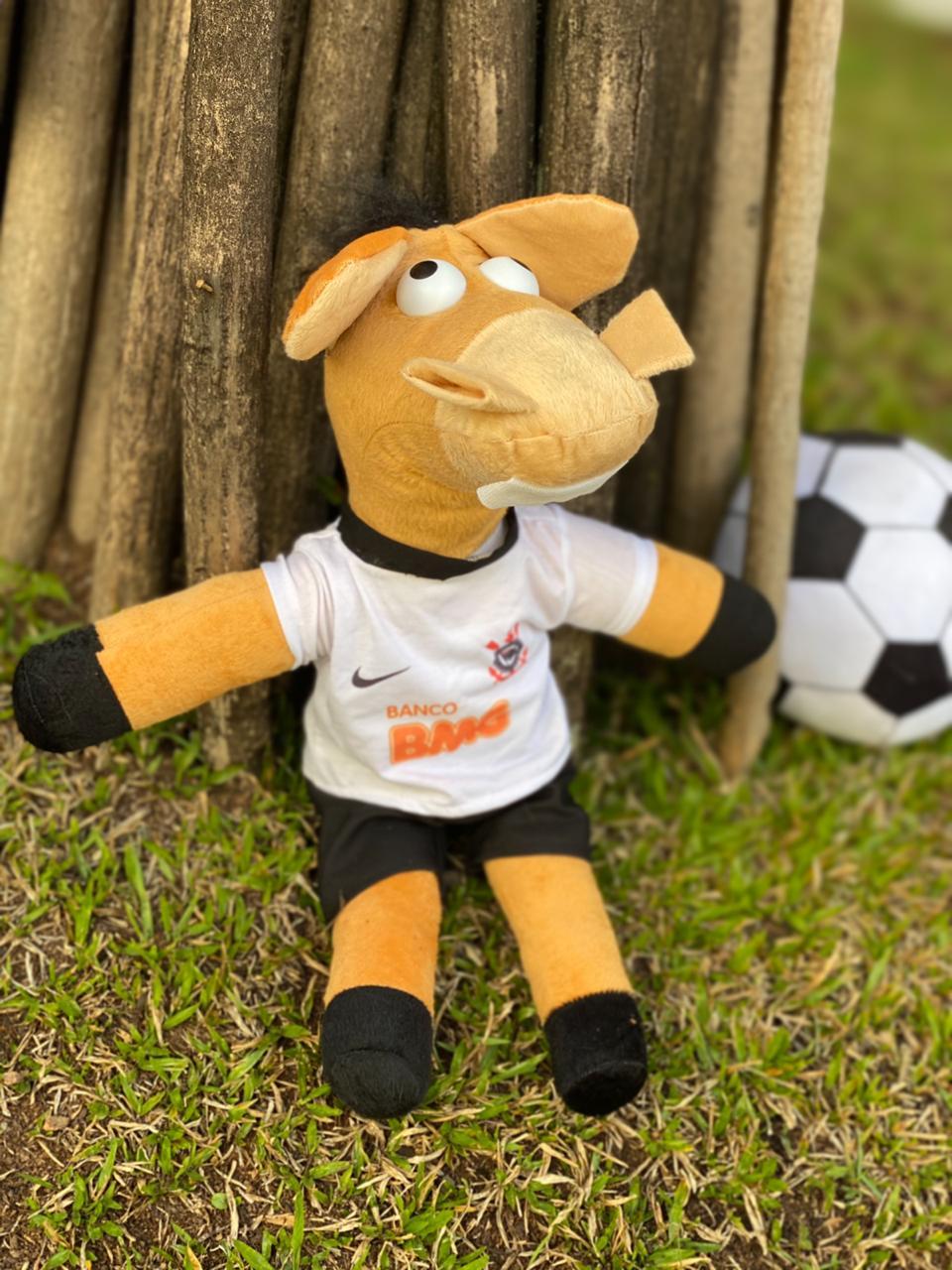 Pelúcia Cavalinho do Corinthians: Cavalinhos do Fantástico