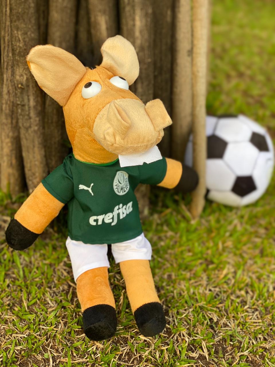 Pelúcia Cavalinho do Palmeiras: Cavalinhos do Fantástico