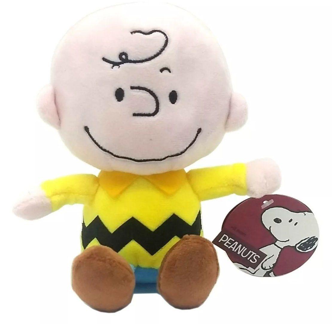 Pelúcia Charlie Brown (Pequeno): Peanuts - DTC