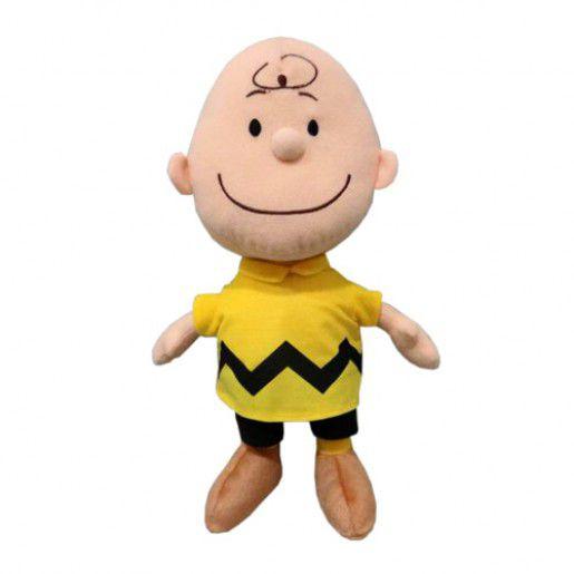 Pelúcia Charlie Brown: Turma Charlie Brown (Snoopy)