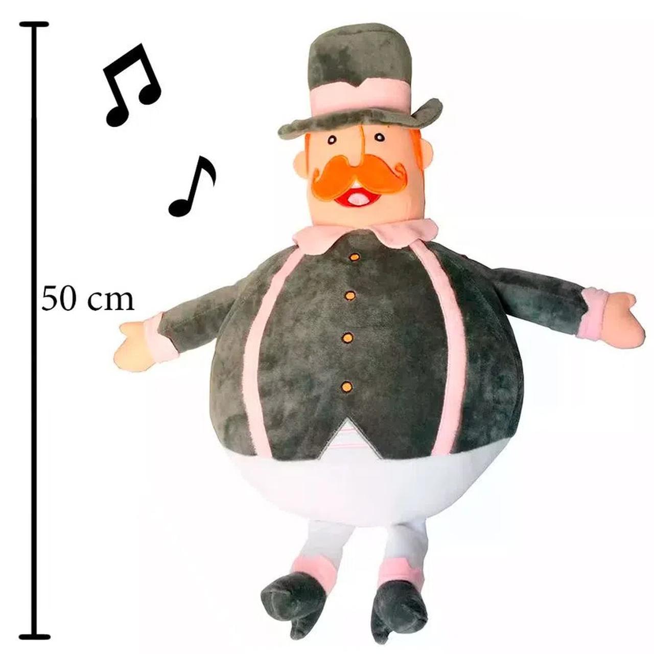 Pelúcia com Som Mundo Bita 50 cm Grande - FUN